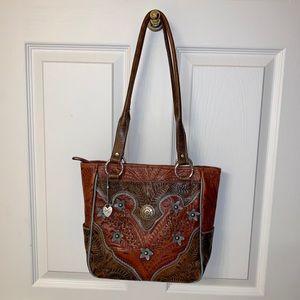 American West shoulder bag